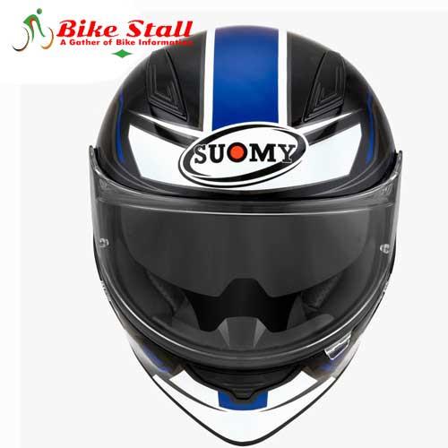 Suomy Speedstar Glow Blue Fluo Helmet